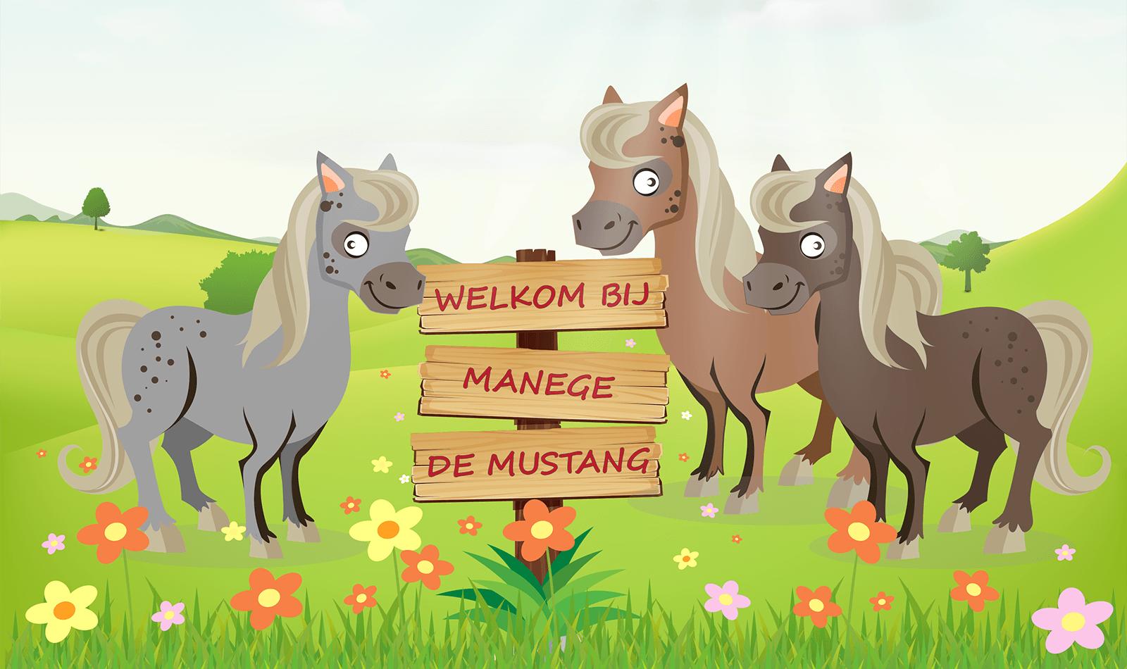 Welkom bij Manege de Mustang